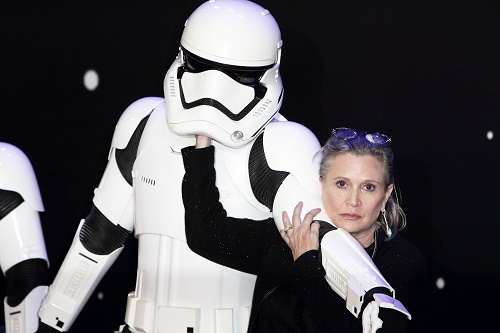 Carrie Fisher Reveals She Slept With Harrison Ford While Filming 'Stars Wars'