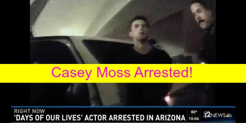 Days of Our Lives Spoilers: Casey Moss Arrested in Arizona – Bar Scuffle Leaves 'JJ Deveraux' DOOL Star Facing Assault Charges