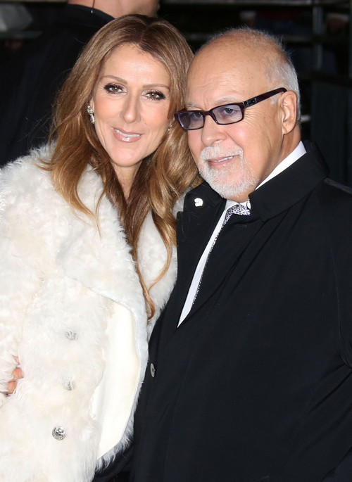 Celine Dion Reveals Husband Rene Angelil Has Only Weeks to Live, Kids Distraught