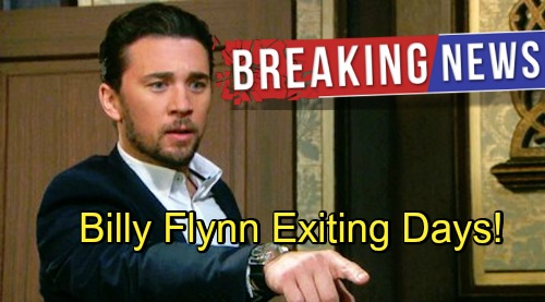 Days of Our Lives Spoilers: Billy Flynn Set to Exit DOOL as Chad – What Does It Mean for Chabby's Future?