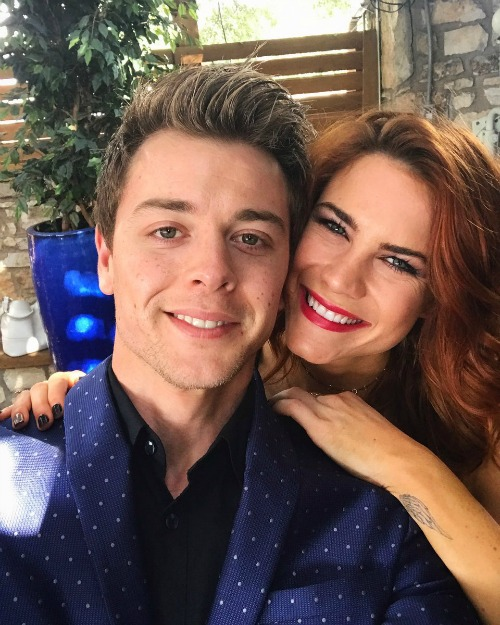 hope dating chad Icymi chad duell interview april 4 chad duell will mark his seventh anniversary in the role of michael corinthos and b&b's courtney hope.
