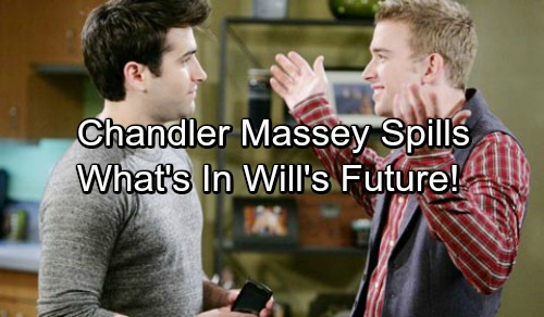 Days of Our Lives Spoilers: Chandler Massey Talks About Continuing Will Horton's Journey