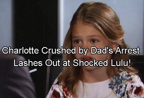 General Hospital Spoilers: Lulu Gets Charlotte After Valentin Arrest - Charlotte Rages and Rejects Mom
