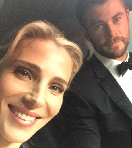 Chris Hemsworth Embarrassed By Wife Elsa Pataky's Desperate A-List Desires: Escorted To Golden Globes By Police?