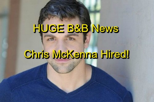 The Bold and the Beautiful Spoilers: The Young and the Restless Det. Harding - Chris McKenna Hired and Filming on B&B