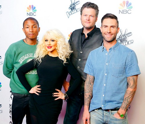 Christina Aguilera and Gwen Stefani Feud Heats Up – Christina Fears Gwen and Blake Shelton Will Push Her Out of The Voice