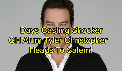 Days of Our Lives Spoilers: General Hospital Alum Tyler Christopher Headed to Salem - DOOL Casting Shocker