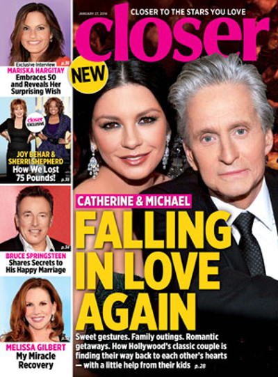 Michael Douglas and Catherine Zeta-Jones Reconciliation on the Horizon? (PHOTO)