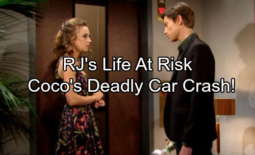 The Bold And The Beautiful Spoilers Rjs Life In Danger Cocos