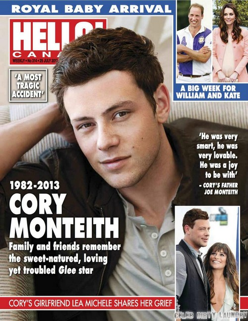 Cory Monteith's Father, Joe Monteith Speaks Out On Son's Death (PHOTO)?