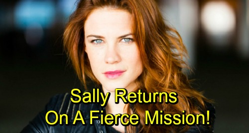 The Bold and the Beautiful Spoilers: Sally Returns For Fierce Mission, Determined Spectra Fights for What She Wants
