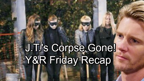 The Young and the Restless Spoilers: Friday, November 2 – J.T.'s Corpse Is Gone – Phyllis Reveals COO Pick – Summer's Grim Prediction