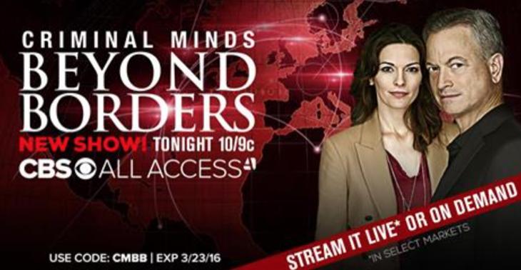 Criminal Minds: Beyond Borders Recap Premiere 3/16/16