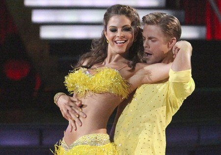 Maria Menounos Dancing With The Stars Foxtrot Performance Video 4/23/12