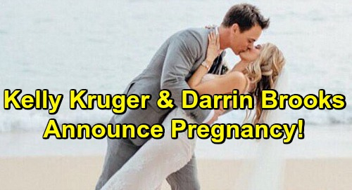 The Young and the Restless and Bold And The Beautiful Stars Pregnant - Darin Brooks and Kelly Kruger Having A Baby!