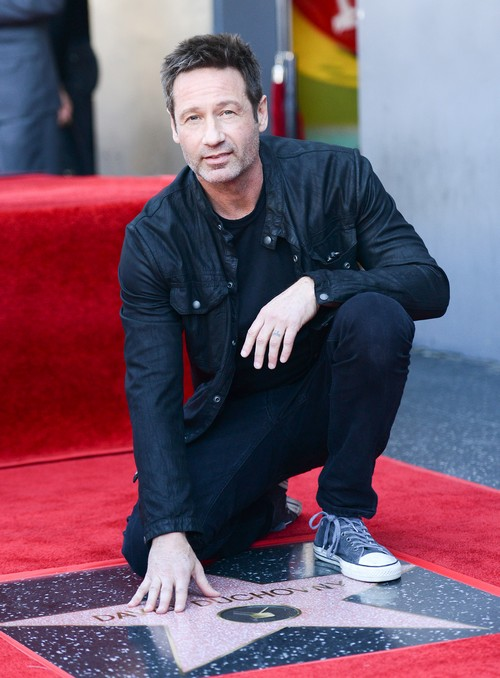 X-Files David Duchovny Gets Star on Hollywood Walk of Fame: Gillian Anderson Doesn't Attend - Hiding Romantic Relationship?