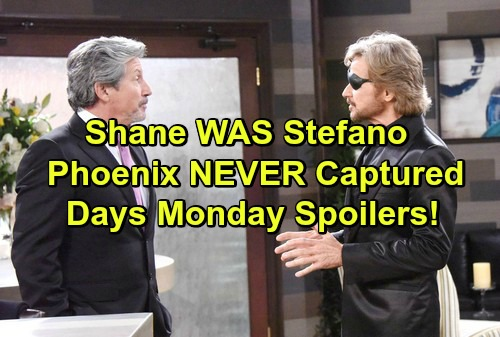 Days of Our Lives Spoilers: Stefano Capture Was Faked - Shane and Steve Reveal How They Pulled Off Scheme
