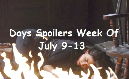Days of Our Lives Spoilers: Week of July 9-13 – Crushing Blows, Brutal Backstabbing and Fiery Danger