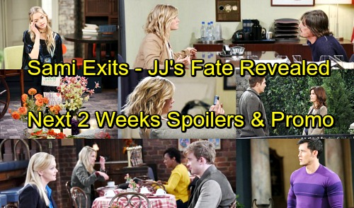 Days of Our Lives Spoilers: Next 2 Weeks - Farewell to Sami – JJ's Fate Revealed – Will's Shock Discovery – Rafe's Awful Guilt