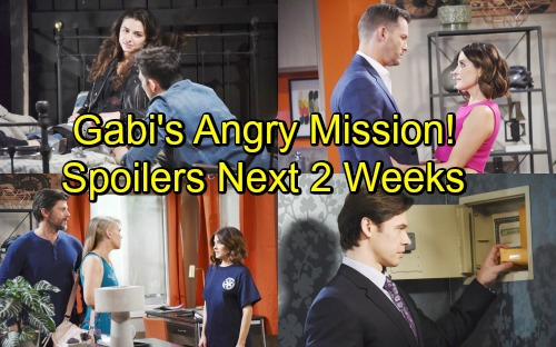 Days of Our Lives Spoilers Next 2 Weeks: Theresa's Dirty Move Enrages Eve – Hope Panics Over Ciara – Gabi's Release Brings Drama