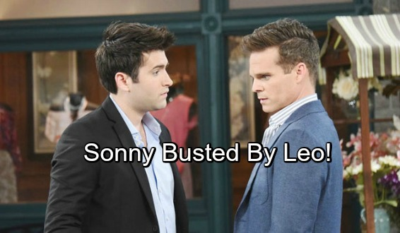 Days of Our Lives Spoilers: Sonny Tries To Take Leo Down – Sonny's Busted, Leo Wins