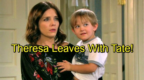 Days of Our Lives Spoilers: Devastated Brady Loses Custody Battle - Theresa and Tate Leave Salem