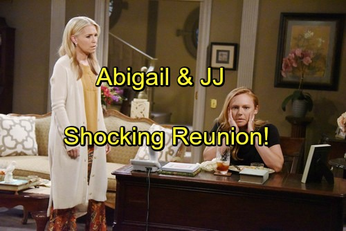 Days of Our Lives Spoilers: JJ Shocked to Find Abigail in the Attic – Heartfelt Reunion Leads to Complications and Opportunities
