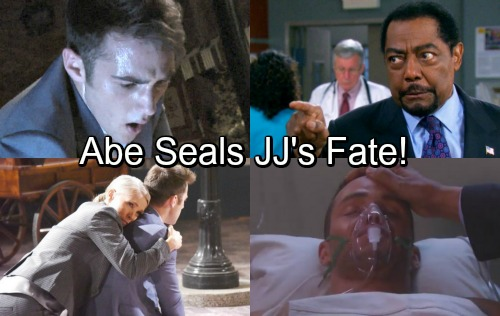 Days of Our Lives Spoilers: Jennifer Panics Over Suicidal JJ, Begs Abe to Forgive Remorseful Son – Abe Seals JJ's Fate