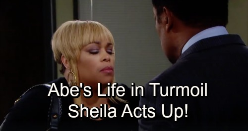 Days of Our Lives Spoilers: Abe's Life In Turmoil - Sheila Acts Up, Valerie Gets Job Offer Out Of Salem