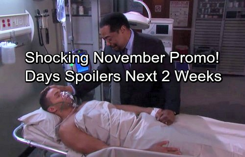 Days of Our Lives Spoilers for Next 2 Weeks: Abe Explodes at JJ – Shocking Will Outcome