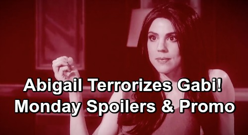 Days of Our Lives Spoilers: Monday, December 10 – Abigail Terrorizes Gabi – Rafe Punches Lying Ted – Ciara and Julie Face Off