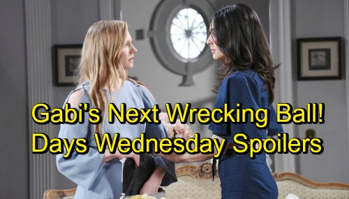 Days of Our Lives Spoilers: Wednesday, September 19 – Chloe Warns Manipulative Bonnie – Eli Gets a Shock – Gabi's Next Wrecking Ball