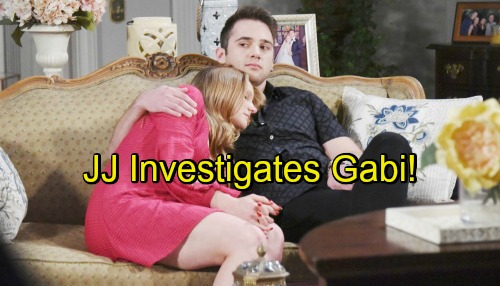 Days of Our Lives Spoilers: JJ's Torn as Abigail Blames Gabi for Her Problems – Investigates What His Ex Is Really Up To