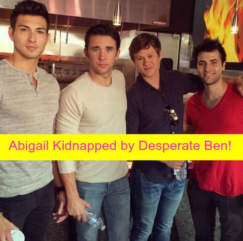 Days of Our Lives (DOOL) Spoilers: Abigail Discovers Ben's Murders, Kidnapped - Fights to Protect Baby at Horton Cabin