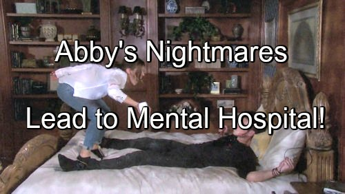 Days of Our Lives (DOOL) Spoilers: JJ Worries as Jennifer Mixes Booze and Pills – Abigail's Nightmares Take a Toll