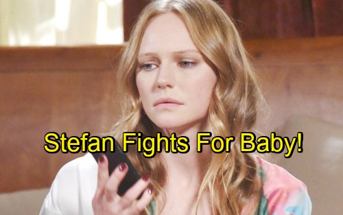 Days of Our Lives Spoilers: Stefan Learns He's Abigail's 'Baby Daddy' – Fights for His Kid, Plots to Steal Chad's Wife