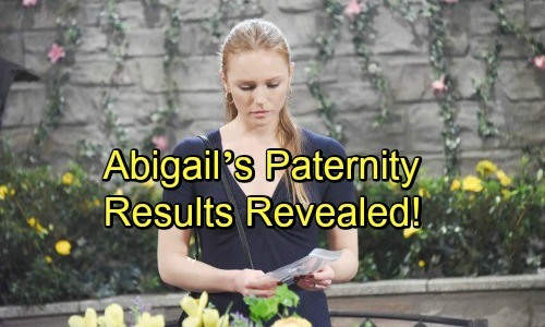 Days of Our Lives Spoilers: Abigail's Paternity Results Revealed – Pregnant Secret-Keeper Makes a Big Decision