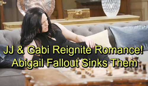 Days of Our Lives Spoilers: JJ and Gabi Reignite Romance - Explosive Abigail Fallout Sinks Relationship