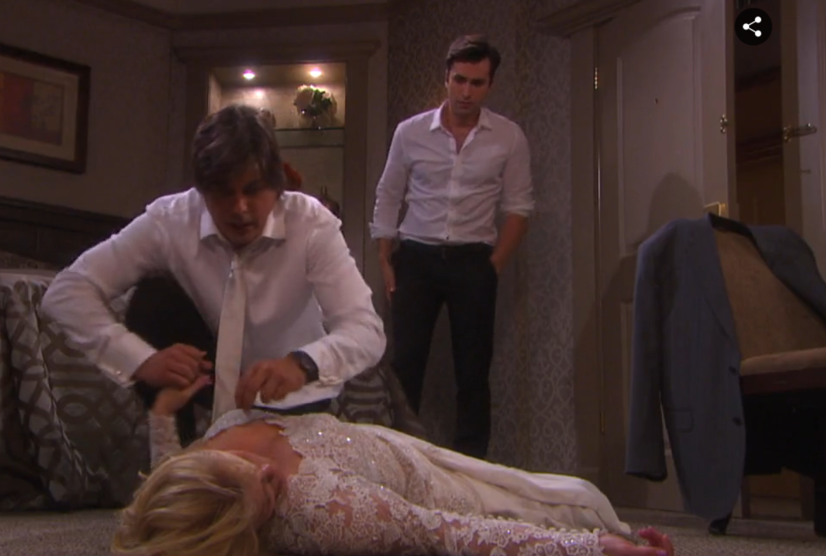 Days of Our Lives Spoilers: Week of Nov. 28 - Adrienne Picks Husband, Collapses and Rushed to Hospital - Kayla Diagnoses Cancer