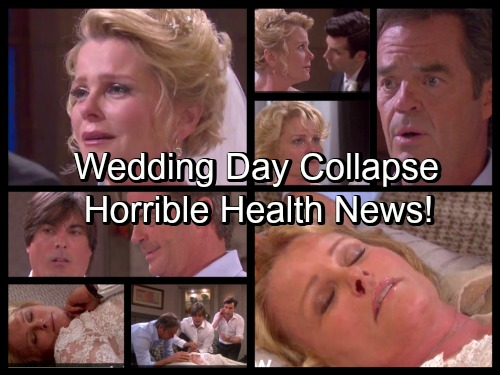 Days of Our Lives Spoilers: Adrienne Collapses During Wedding Day Drama – Shocking Health Crisis Leads to Devastating News