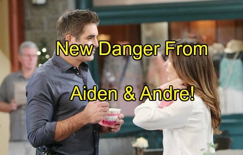 'Days of Our Lives' Spoilers: Aiden Tangled in Andre's Web Again - Hope and Rafe Face Shocking Danger