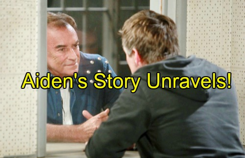 'Days of Our Lives' Spoilers: Andre Grilled About Aiden's Visits – Rafe Proves Aiden Planned To Murder Hope, Shawn Helps