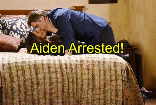 'Days of Our Lives' Spoilers: Aiden Arrested After Lies Are Exposed – Hope Feels Guilty for Dumping Rafe
