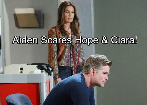 Days of Our Lives (DOOL) Spoilers: Chase and Aiden's Emotional Jail Reunion – Vows to Free Son, Hope and Ciara Horrified