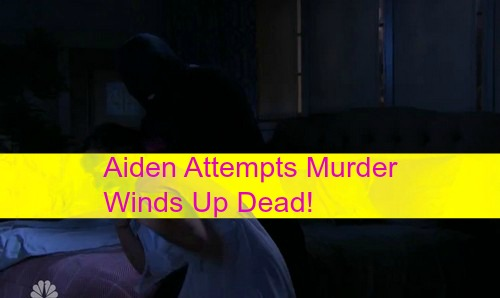 Days of Our Lives (DOOL) Spoilers: Aiden Fatally Stabbed Trying to Murder Hope - Cops Think Aiden The Serial Killer?