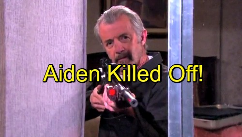 'Days of Our Lives' Spoilers: Aiden Killed Off in Midst of Clyde Chaos - Past Comes Back to Haunt Crooked DA