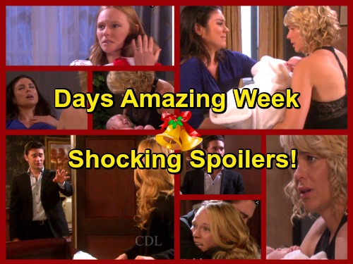Days of Our Lives Spoilers: Chloe Gives Birth to Baby Girl, Nicole Delivers Her Own Daughter – Chad and Abigail Reunite at Last
