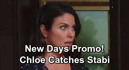 Days of Our Lives Spoilers: Revealing DOOL Preview – Livid Chloe Finds Stefan and Gabi in Bed Together, Hot Hookup Brings Fury