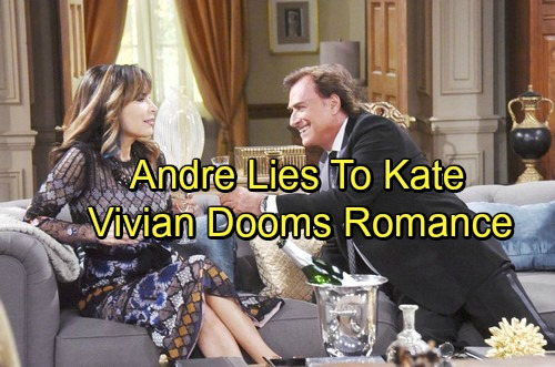 Days of Our Lives Spoilers: Andre Keeps a Dangerous Secret from Kate – Vivian Alliance Spells Disaster for Romance