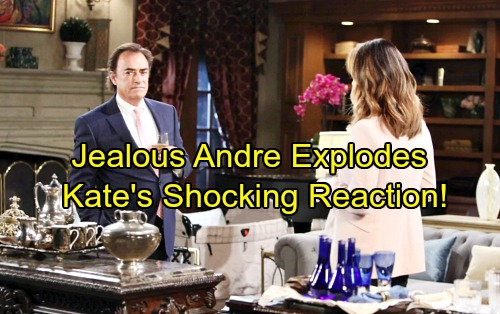 Days of Our Lives Spoilers: Jealous Andre Explodes, Seeks Control of DiMera Enterprises – Kate Shocked by Ruthless Move